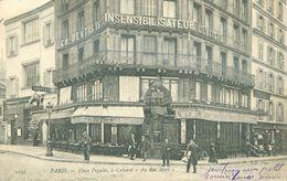 """(75) PARIS (9ème) : Place Pigalle, Le Cabaret """"Au Rat Mort"""" (animée) - Arrondissement: 09"""