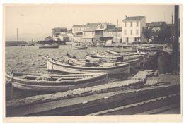Photo Amateur Ancienne, Port De Pêche, Le Brusc ( Var ) - Lugares