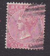 Bermuda, Scott #19b, Used, Victoria, Issued 1883 - Bermudes