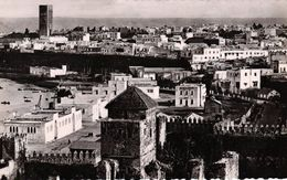 MAROC - RABAT QUARTIER DE LA TOUR HASSAN VUE DES OUDAIAS - Rabat