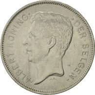 Belgique, 20 Francs, 20 Frank, 1931, TTB+, Nickel, KM:102 - 1909-1934: Albert I
