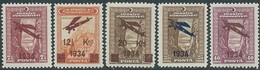 TURCHIA -TURKEY-TURKISH - 1934  Air Mail - 1934-39 Sandjak Alexandrette & Hatay