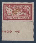 N°121 - Merson - Neuf Sans Charniere - Cote 110€ - Neufs