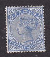 Bermuda, Scott #22, Mint Hinged, Victoria, Issued 1883 - Bermudes