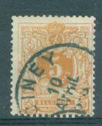 "BELGIE - OBP Nr 28  - Liggende Leeuw - Cachet  ""CINEY""  (ref. ST 514) - 1869-1888 Lion Couché"