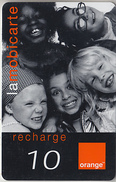 ÎLE DE LA RÉUNION  - RECHARGE - GSM & ORANGE  ***  ENFANTS - 10 *** - Reunion