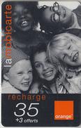 ÎLE DE LA RÉUNION  - RECHARGE - GSM & ORANGE  ***  ENFANTS - 35 *** - Reunion