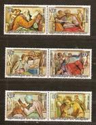 Burundi 1976 OCBn° LP PA 408-413 *** MNH  Cote 22,00 Euro Michelangelo Noël Kerstmis - Burundi