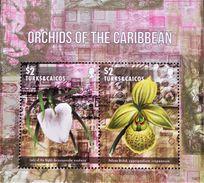 ORCHIDEES 2017 - NEUF ** - NOUVEAUTE - Turks & Caicos (I. Turques Et Caïques)