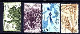 Egypte 1957 4 Timbres Neufs ** MNH Mi 511 512 513 Saladin Saint Louis Voir Scan - Egitto