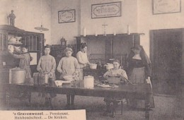 372632Gravenwezel, Pensionaat  - Huishoudschool – De Keuken. (voir Verso – Zie Achterkant) - Schilde
