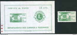 BRAZIL #1047a  - LIONS CLUB INTERNATIONAL  1967 - MINT - Brazil