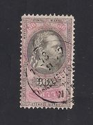 1 Austria Revenue 36 Kr. 1.1.1877 Weißes Papier - Mit WASSERZEICHEN - Steuermarken