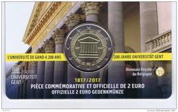 Belgio - 2 Euro Commemorativo Anno 2017 -  Università Di  Gand - Belgio