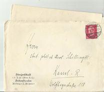 DR CV 1931+letter - Deutschland