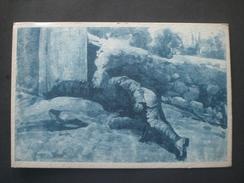 CARTOLINA DI PROPAGANDA 1 GUERRA MONDIALE - 1900-44 Vittorio Emanuele III