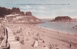 Saint-Quay-Portrieux La Plage Et L'île De La Comtesse - Saint-Quay-Portrieux