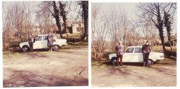 2 Photos Amateur Automobile, Peugeot 304 - Automobiles