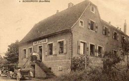 CPA - MORSBRONN (67) -Aspect Du Café De La Gare Dans Les Années 20 - France