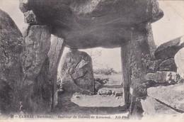 Bretagne / Dolmen De Kerioned  ( Interieur ) 56 Morbihan   ( Nieuw ) - Dolmen & Menhirs