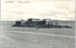 ESPAGNE  -- Coruna --  Castillo De San Anton - La Coruña