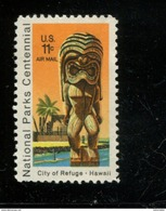 200220700 USA 1972 POSTFRIS MINT NEVER HINGED POSTFRISCH EINWANDFREI SCOTT C84 NATIONAL PARKS - Air Mail