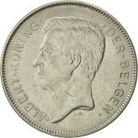 Belgique, 20 Francs, 20 Frank, 1932, TTB+, Nickel, KM:102 - 1909-1934: Albert I