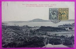 Cpa Port Despointes Les Salines Carte Postale Nouvelle Calédonie New Caledonia Nouméa - Nouvelle Calédonie