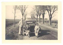 Photo Amateur Automobile à Identifier, Bord De Route - Automobiles