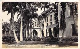 PANAMA : CRISTOBAL - Entrance To HOTEL WASHINGTON - CPSM Photo - SUDAMERICA South America - - Panamá
