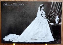 KAISERIN ELISABETH IM UNGARISCHEN KRONUNGSKLEID SCAN R/V - Personnages Historiques