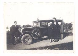 Photo Amateur Automobile Citroën AC4 - Automobiles