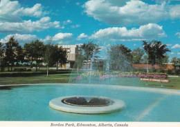 Canada Edmonton Fountain In Borden Park - Edmonton