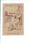 Chromo Devinette Cherchez ? Moulin Meunier Pub : Chez A. Demange à Chartres Bien - Chromos