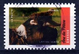 France, Animal, Poitou Donkey, 2017, VFU Self-adhesive - Frankrijk