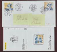 3678 De 2004 - 1er Jour & Son Fascicule - Pierre DUGUA DE MONS - FRANCE/CANADA - BAYSIDE Au Canada & PARIS Le 26-06-2004 - FDC