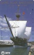 *GIAPPONE* - Scheda Usata - Barche