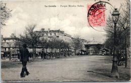 ESPAGNE -- La CORUNA --  Parque Mendez Nunez - La Coruña
