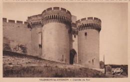France Villeneuve Les Avignon L'entree Du Fort - Avignon