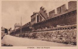 France Avignon Detail Des Remparts - Avignon