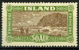 Islanda 1925 SG 155 Nuovo * 40% - 1918-1944 Autonomous Administration