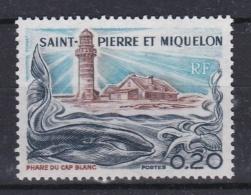 SAINT-PIERRE-ET-MIQUELON     :   Yvert  447 Neuf XX  Cote  6,90 Euros Phare - Neufs