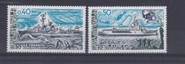 TAAF     :   Yvert  74  75    Neuf XX    Cote 4,30   Euros  Navires - Neufs
