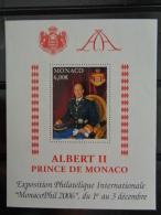 MONACO 2006 B.F Y&T N° 92 ** - EXPOSITION PHILATELIQUE INTERNATIONALE - Monaco