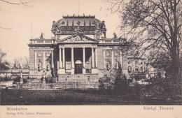Germany Wiesbaden Koeniglisches Theater