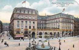 Germany Frankfurt am Main Grand Hotel Frankfurter Hof am Kaiserp