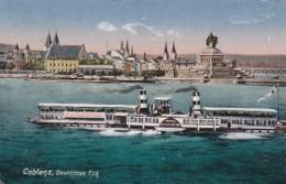 Germany Koblenz Deutsches Eck 1920