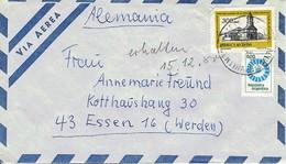 Argentinien / Argentina - Umschlag Echt Gelaufen / Cover Used (C1005) - Argentinien