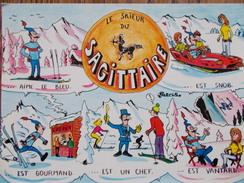 ASTROLOGIE - Signes Du Zodiaque - Le Skieur Du SAGITTAIRE - Astrology