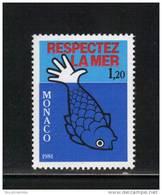 Monaco Timbres De 1981 Neufs** N°1264 - Monaco